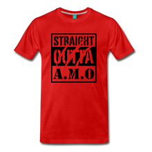 Load image into Gallery viewer, Straight Outta A.M.O T-Shirt - red