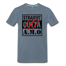 Load image into Gallery viewer, Straight Outta A.M.O T-Shirt - steel blue