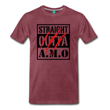 Load image into Gallery viewer, Straight Outta A.M.O T-Shirt - heather burgundy