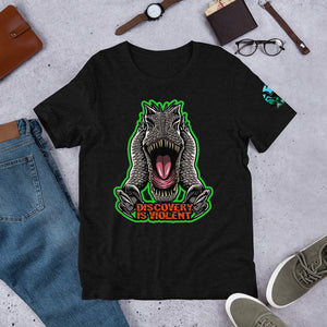 Discovery Is Violent  (Green) Indominus Rex - T-Shirt
