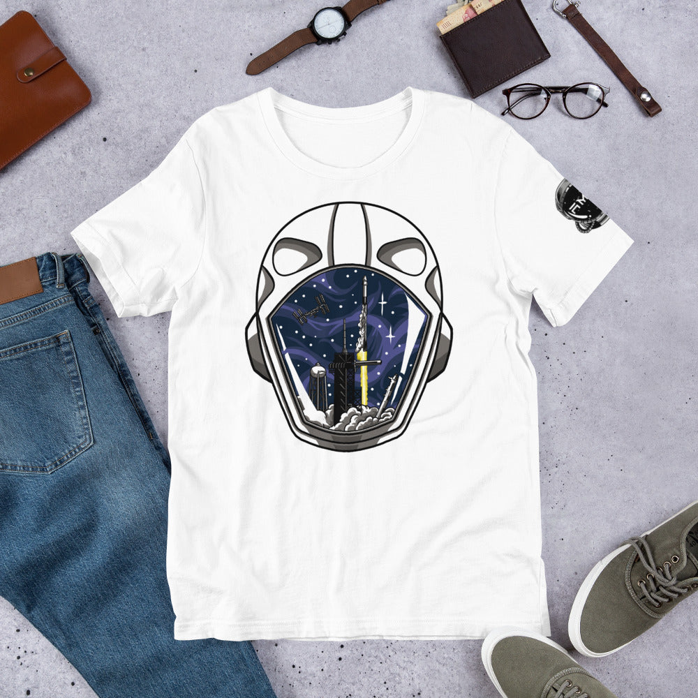 SpaceX Crew Dragon Tribute T-Shirt