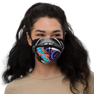 Cosmic Ocean Helmet - Face mask