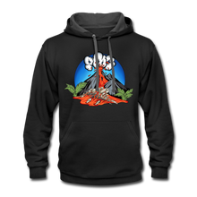 Load image into Gallery viewer, Eruption - Contrast Hoodie - black/asphalt
