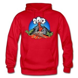 Eruption - Hoodie - red
