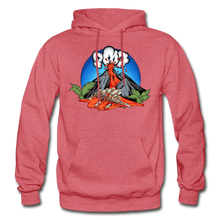 Load image into Gallery viewer, Eruption - Hoodie - heather red