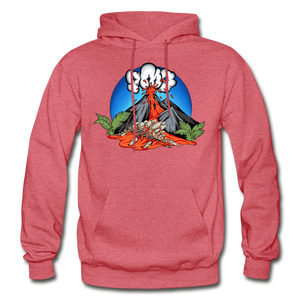 Eruption - Hoodie - heather red
