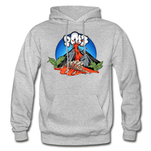 Load image into Gallery viewer, Eruption - Hoodie - heather gray