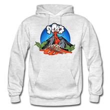 Load image into Gallery viewer, Eruption - Hoodie - light heather gray