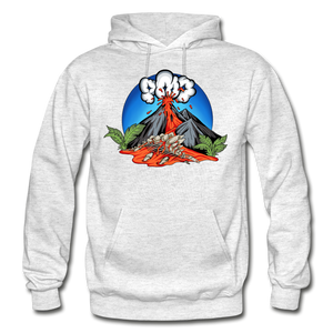 Eruption - Hoodie - light heather gray