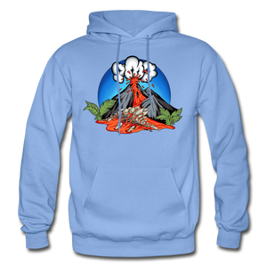 Eruption - Hoodie - carolina blue