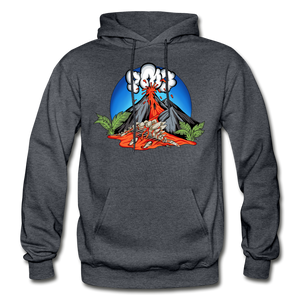 Eruption - Hoodie - charcoal gray
