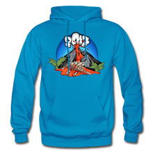 Load image into Gallery viewer, Eruption - Hoodie - turquoise