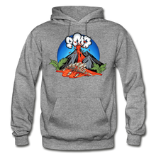 Load image into Gallery viewer, Eruption - Hoodie - graphite heather
