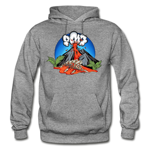 Eruption - Hoodie - graphite heather
