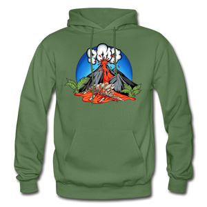Eruption - Hoodie - military green