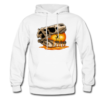 Load image into Gallery viewer, Amber Skull - Hoodie - white