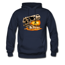 Load image into Gallery viewer, Amber Skull - Hoodie - navy