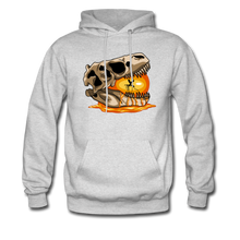 Load image into Gallery viewer, Amber Skull - Hoodie - ash