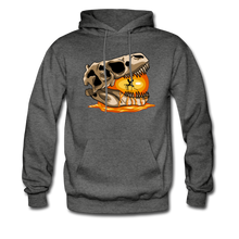 Load image into Gallery viewer, Amber Skull - Hoodie - charcoal gray
