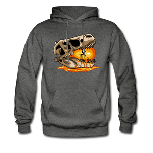 Amber Skull - Hoodie - charcoal gray