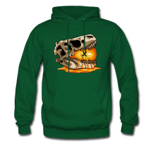 Load image into Gallery viewer, Amber Skull - Hoodie - forest green