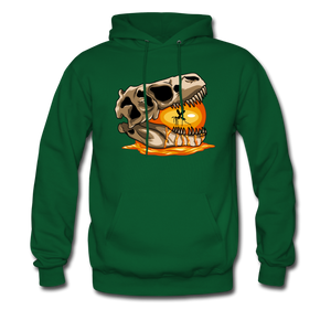 Amber Skull - Hoodie - forest green