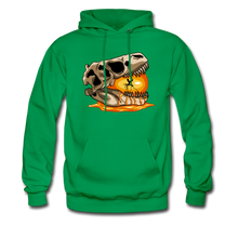 Load image into Gallery viewer, Amber Skull - Hoodie - kelly green