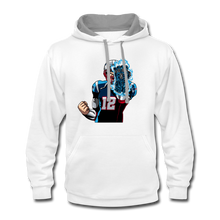 Load image into Gallery viewer, G.O.A.T - Contrast Hoodie - white/gray