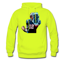 Load image into Gallery viewer, G.O.A.T - Midweight Hoodie - safety green