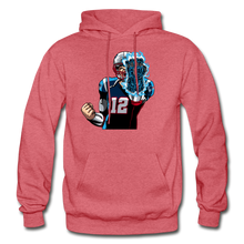 Load image into Gallery viewer, G.O.A.T - Heavy Blend Hoodie - heather red