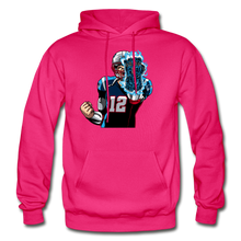 Load image into Gallery viewer, G.O.A.T - Heavy Blend Hoodie - fuchsia