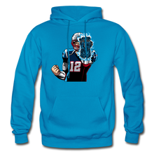 Load image into Gallery viewer, G.O.A.T - Heavy Blend Hoodie - turquoise