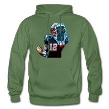 Load image into Gallery viewer, G.O.A.T - Heavy Blend Hoodie - military green