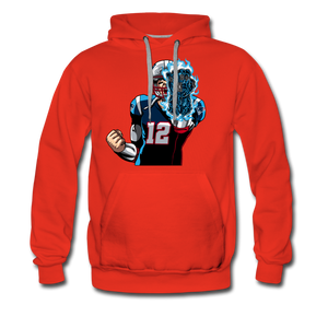G.O.A.T - Heavyweight Hoodie - red