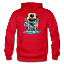 Load image into Gallery viewer, Sabertooth - Heavy Blend Hoodie - red