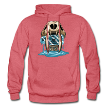 Load image into Gallery viewer, Sabertooth - Heavy Blend Hoodie - heather red