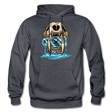 Load image into Gallery viewer, Sabertooth - Heavy Blend Hoodie - charcoal gray