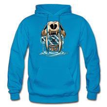 Load image into Gallery viewer, Sabertooth - Heavy Blend Hoodie - turquoise