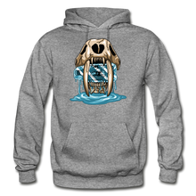 Load image into Gallery viewer, Sabertooth - Heavy Blend Hoodie - graphite heather