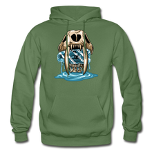 Load image into Gallery viewer, Sabertooth - Heavy Blend Hoodie - military green