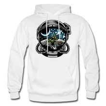 Load image into Gallery viewer, Brewed in Space - Heavy Blend Hoodie - white