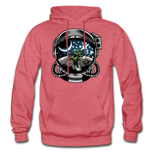 Load image into Gallery viewer, Brewed in Space - Heavy Blend Hoodie - heather red