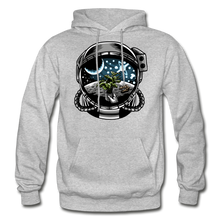 Load image into Gallery viewer, Brewed in Space - Heavy Blend Hoodie - heather gray