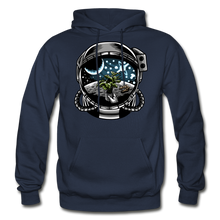 Load image into Gallery viewer, Brewed in Space - Heavy Blend Hoodie - navy