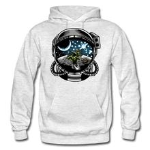 Load image into Gallery viewer, Brewed in Space - Heavy Blend Hoodie - light heather gray