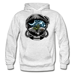 Brewed in Space - Heavy Blend Hoodie - light heather gray