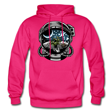 Load image into Gallery viewer, Brewed in Space - Heavy Blend Hoodie - fuchsia