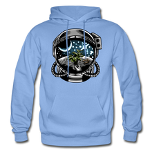 Load image into Gallery viewer, Brewed in Space - Heavy Blend Hoodie - carolina blue