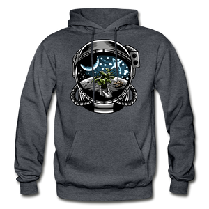 Brewed in Space - Heavy Blend Hoodie - charcoal gray