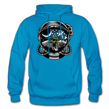 Load image into Gallery viewer, Brewed in Space - Heavy Blend Hoodie - turquoise